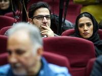 دختر و داماد نجفی در دادگاه +عکس