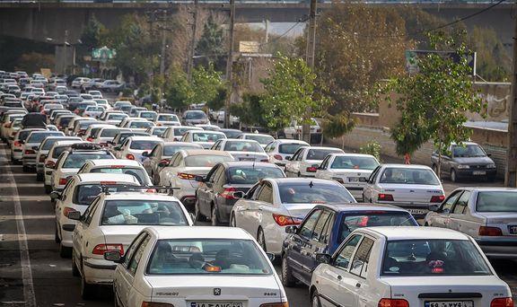 ترافیک سنگین در محور تهران - قم