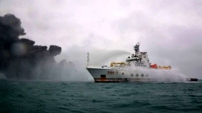 در انتظار مجوز برای دیدار با خدمه کشتی چینی