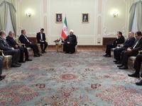 دیدار رییس جمهور با دبیر کل جنبش جهاد اسلامی فلسطین