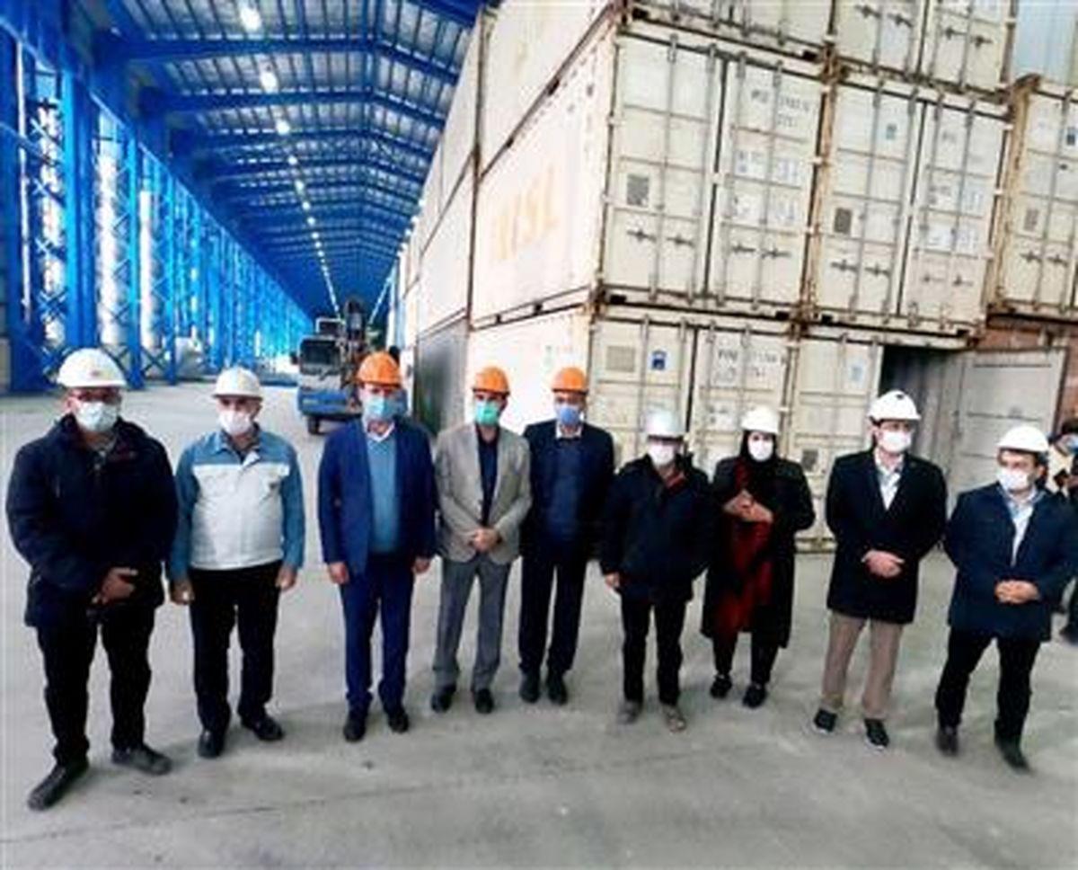 افتتاح انبار اختصاصی گمرک شرکت فولاد تاراز