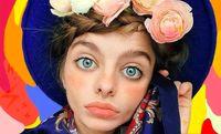 چشمان عجیب دختر اوکراینی +تصاویر