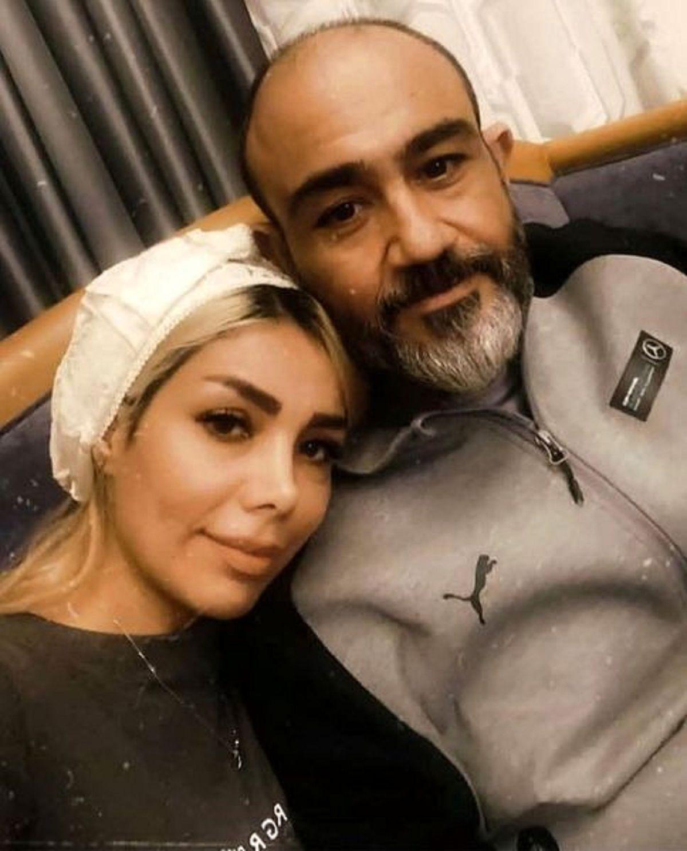 مهران غفوریان و همسرش در لندن + عکس