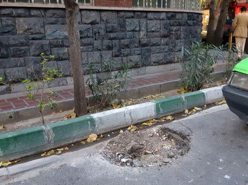 حذف نشان شیر و خورشید از تیرِ برقهایِ تهران+عکس