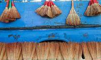 جارو فروشی در مازندران +عکس