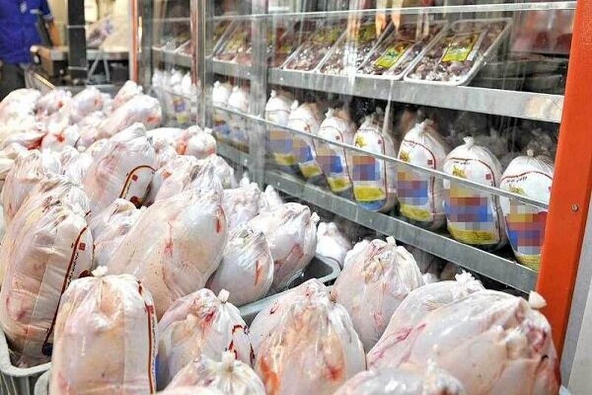 بازار مرغ در یک قدمی آرامش