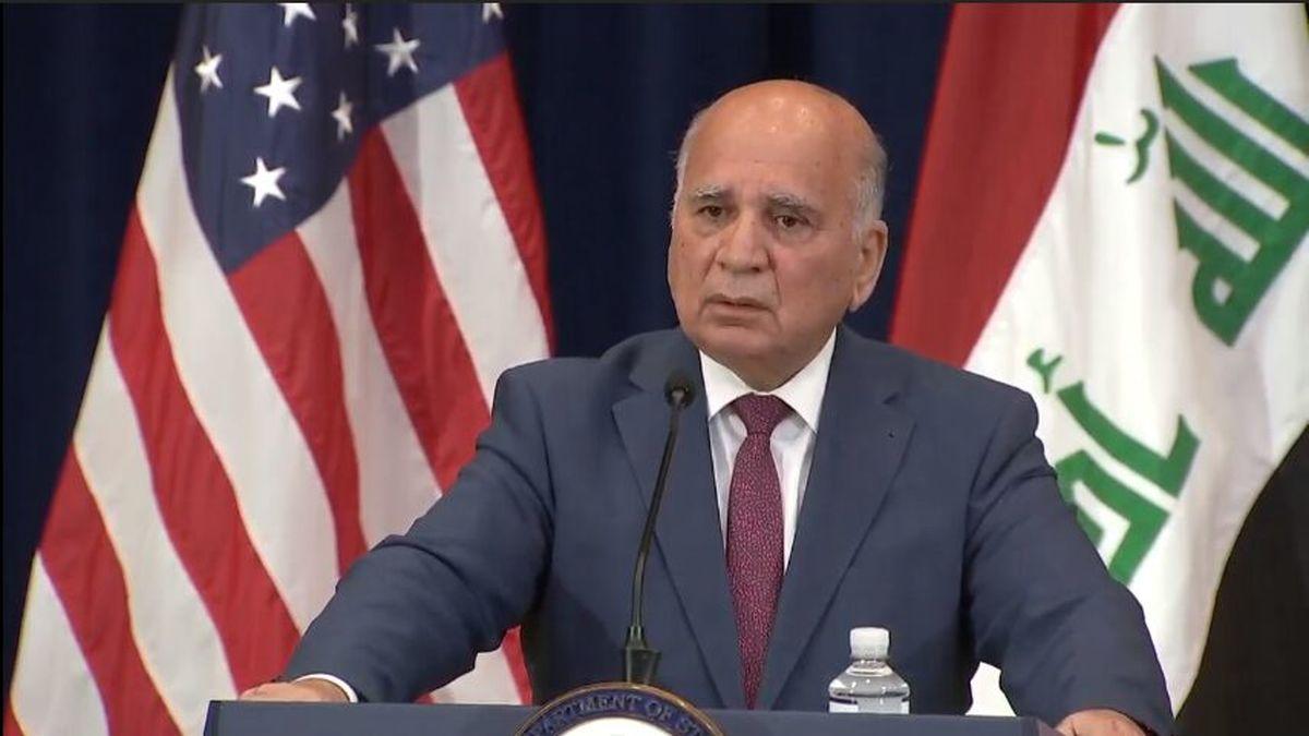 خبر جدید وزیرخارجه عراق