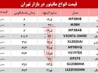 قیمت انواع مانیتور در بازار تهران؟ +جدول