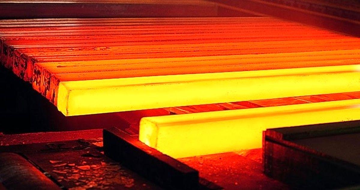 فولاد سازان بزرگ ۱۳.۱میلیون تن شمش تولید کردند