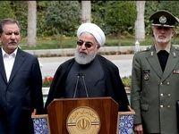 اظهارات روحانی در حاشیه آخرین جلسه هیات دولت +عکس