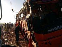 واژگونی مرگبار اتوبوس دانشآموزان هرمزگانی