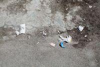 کرونا سوار بر زبالهها
