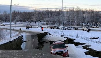 زلزله ۷ریشتری آلاسکا را لرزاند