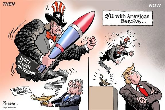 ببینید: تفاوت آمریکای بوش و ترامپ!