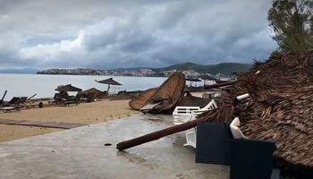 کشته شدن 6تبعه خارجی در طوفان سهمگین یونان