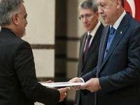 تقدیم استوارنامه سفیر جدید ایران به اردوغان +عکس