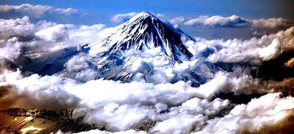 چشماندازی بینظیر از کوه دماوند +فیلم