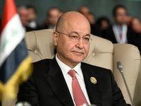 تأکید برهم صالح بر ضرورت همکاری با اتحادیه اروپا