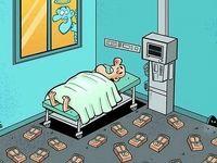 جسدخواری در بیمارستان! (کاریکاتور)