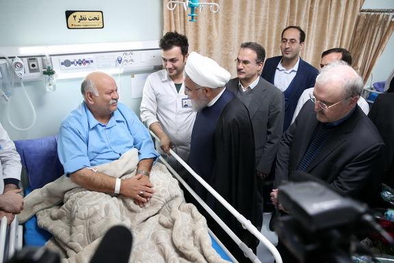 افتتاح بیمارستان امام خمینی(ره)