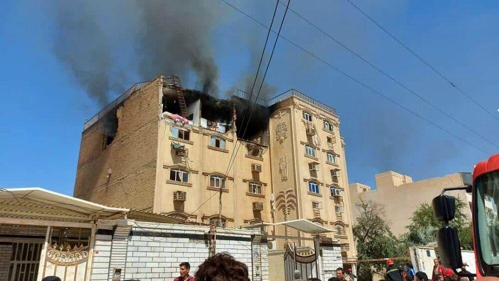 انفجار خانه