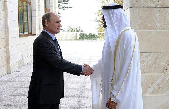 گفت وگوی پوتین و ولیعهد امارات درباره امنیت خلیج فارس