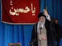 سخنرانی رهبر انقلاب در اجتماع عظیم بسیجیان +عکس