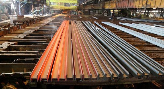 8 درصد؛ رشد صادرات فولاد