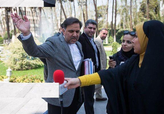 روایتی متفاوت از دلیل عصبانت وزیر راه از خبرنگار
