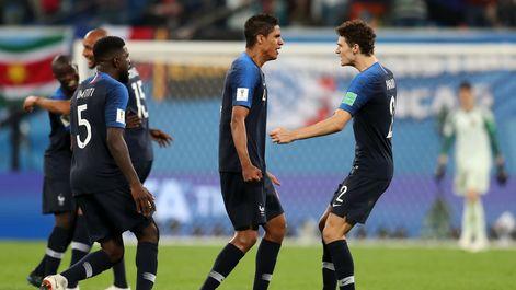 صعود فرانسه به فینال رقابتهای جامجهانی