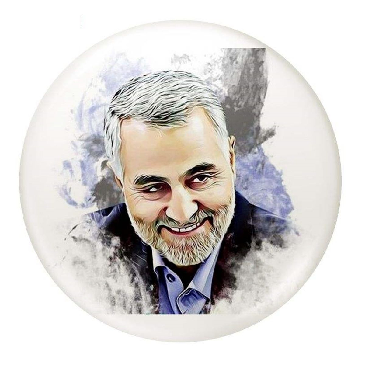 تمبر سردار سلیمانی مورد تصویب شورای تمبر نیست! +عکس