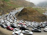 ترافیک نیمه سنگین در محور آمل- تهرا