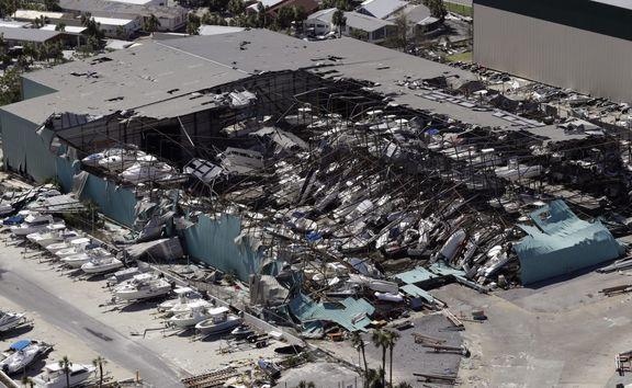 تلفات طوفان مایکل در آمریکا به 11 تن رسید