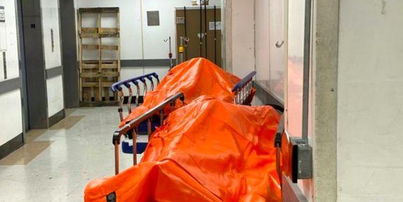راهروهای مملو از قربانیان کرونا در بیمارستان نیویورک +عکس