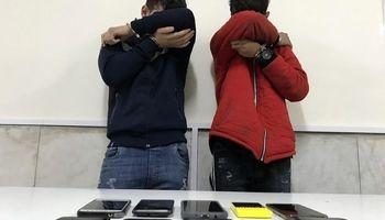 دستگیری موبایل قاپهای جوان پایتخت