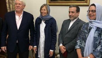 دیدار رئیس کمیسیون روابط خارجی مجلس ملی فرانسه با عراقچی