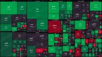 نقشه بورس (۱۲خرداد) / رشد دو هزار واحدی شاخص کل