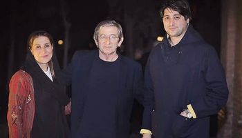 فاطمه معتمدآریا در کنار همسر و پسرش +عکس
