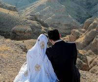 خانم بازیگر در لباس عروس بختیاری +عکس