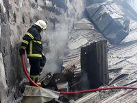 مردی زنده زنده در آتش سوخت