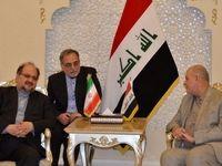 شریعتمداری: تلاش برای گسترش روابط همهجانبه با عراق