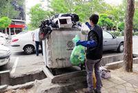 استمرار توزیع اقلام بهداشتی بین کودکان کار و خیابان