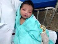 نجات معجزه آسای کودک زنده به گور شده +فیلم