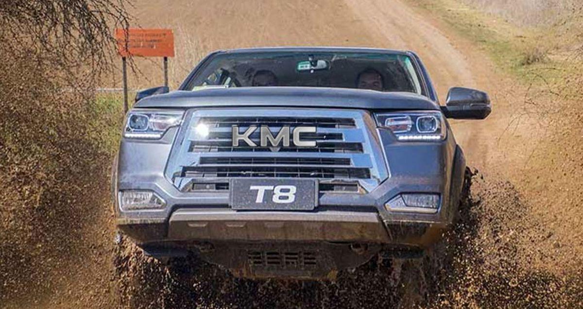 تولید KMC T۸ در کرمان موتور آغاز شد +عکس