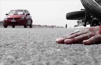 تصادف با عوامل راهداری یک کشته بر جای گذاشت
