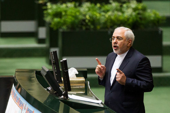 ظریف در مجلس: دامن نظام از پولشویی پاک است