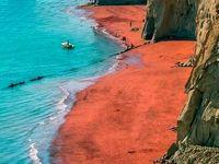 ساحلی زیبا در خلیج فارس +عکس