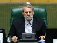 واکنش لاریجانی به نامه نوبخت/ مگر کسی میتواند قانون را اجرا نکند؟