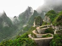 سفری اسرارآمیز به ژانگجیاجی چین +تصاویر