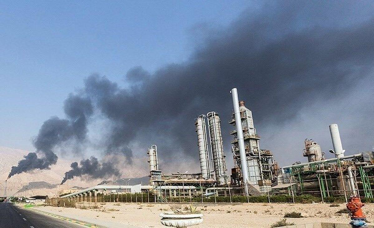 قزوین در محاصره آلودگی/ نیروگاه شهید رجایی با تمام قوا مازوت میسوزاند